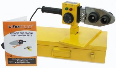 Аппарат для сварки пластиковых труб FoxPlastic 850 FoxWeld