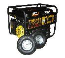 Бензогенератор  DY6500LX с колёсами и аккумулятором+масло
