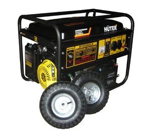 Бензогенератор  DY6500LX с колёсами и аккумулятором