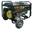 Бензогенератор  DY8000LX с колёсами+масло